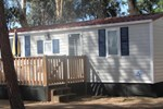 Happy Camp mobile homes in Camping Thurium Villaggio