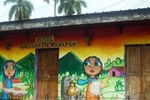 Хостел Hotel La Casa de Mamapan