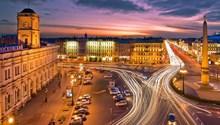 у Московского вокзала
