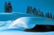 Заснеженные крыши / Фото из Австрии