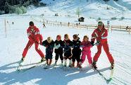 На лыжах самые маленькие / Фото из Австрии