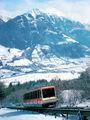 Горный трамвай / Фото из Австрии