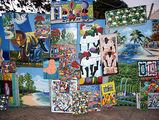 национальная островная живопись / Фото из Доминиканской Республики