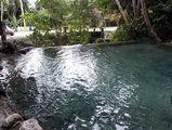 запруда около водопада под Бараоной / Фото из Доминиканской Республики