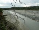 русло с остатками реки / Фото из Доминиканской Республики