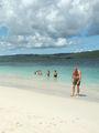 песчано-коралловый островок / Фото из Доминиканской Республики