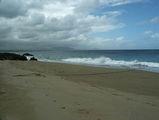 негостеприимный океанский берег / Фото из Доминиканской Республики