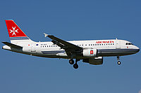 Airbus A319 / Мальта