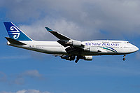 Boeing 747-419 / Новая Зеландия