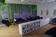 Комната отдыха в бизнес-зале Austrian / Австрия