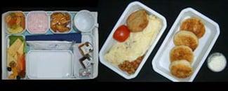 Питание в бизнес-классе / Азербайджан
