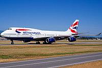 Boeing 747-436 / Великобритания