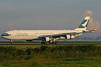 Airbus A340-313X / Гонконг - Сянган (КНР)