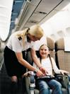 персонал, эконом-класс, Airbus A340 / Швейцария