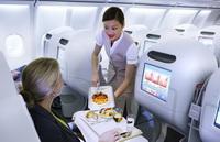Бизнес-класс в Airbus A340-500 / ОАЭ