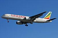 Boeing 757-28a / Эфиопия