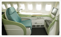 Первый класс Kosmo Sleeper Seat / Южная Корея