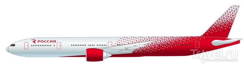 """Boeing 777-300 авиакомпании """"Россия"""" / Россия"""