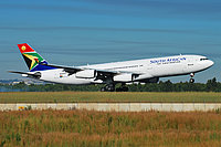Airbus A340-211 / ЮАР
