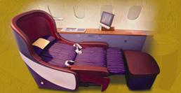 первый класс, кресло / Таиланд