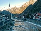 Начало сезона в австрийских Альпах