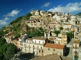 Городок Каккамо на Сицилии