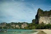 Один из лучших пляжей Краби, Таиланд