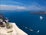 Пейзажи вокруг острова Санторин