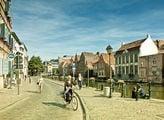 Набережная канала в Генте