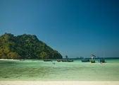 Пляж на острове Ко-Тап в Таиланде