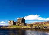 Замок Eilean Donan в Шотландии