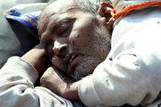 Кто-то прилег поспать / Фото из Индии