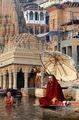 Церемония на главных Гатах / Фото из Индии