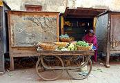 Овощной лоток / Фото из Индии