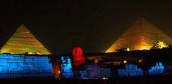 Саунд унд лайт / Фото из Египта