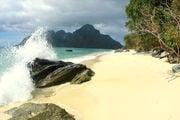 Пляж на острове Палаван, Филиппины
