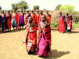 Племя масаев, Кения