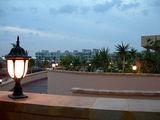 Вечер. Вид с террасы центрального ресторана / Фото из Египта
