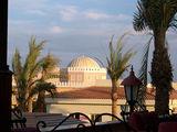 Вечер. Вид с террасы отеля / Фото из Египта