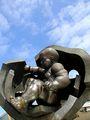 Скульптура работы Эрнста Неизвестного / Фото из Болгарии