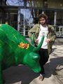 Зеленая корова / Фото из Болгарии