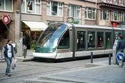 Страсбург. Трамвай / Германия