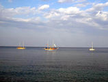 Кемер. Прогулочные лодки в Средиземном море / Фото из Турции