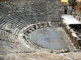 Прекрасно сохранившийся амфитеатр Иераполиса / Фото из Турции
