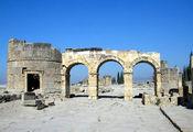 Иераполис. Ворота Домициана / Фото из Турции
