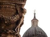 Дубровник. Купол собора св. Влаха и фрагмент Княжеского дворца / Фото из Хорватии