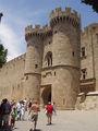 Вход в замок / Фото из Греции