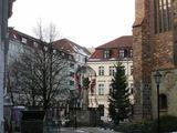 Район Николайфиртель - восстановленный средневековый город / Фото из Германии