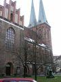 Церковь Николайкирхе с другой стороны / Фото из Германии