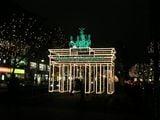 Площадь Европы в рождественском убранстве / Фото из Германии